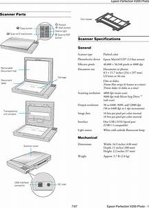 Epson Perfection V200 Photo Users Manual Product