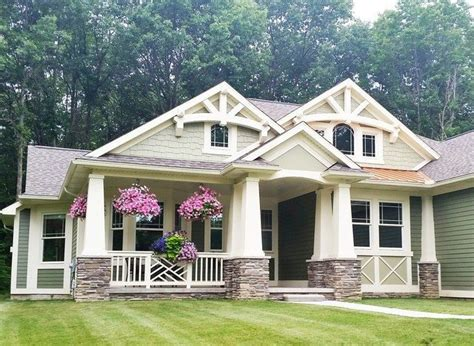 One Story Craftsman Bungalow House Plans New Bungalow