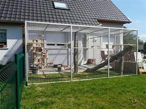 Maison Exterieur Pour Chat : album chatterie ext rieure le blog catseyesadoption ~ Dailycaller-alerts.com Idées de Décoration