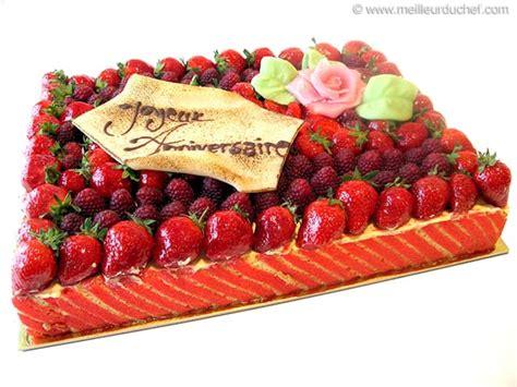 cours de cuisine michalak fraisier à la crème mousseline fiche recette illustrée