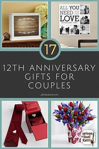 35 good 12th wedding anniversary gift ideas for him her With 12th wedding anniversary gifts for him