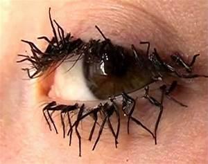 The gallery for --> False Eyelashes Gone Wrong