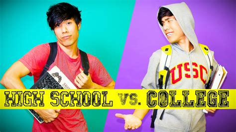 How To List High School And College On Resume by High School You Vs College You