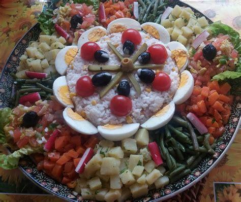 cuisine marocaine salade salade marocaine maison recette de salade composee