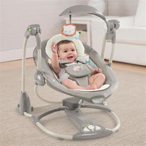 balancelle bébé babymoov ingenuity balancelle convertible en transat candler