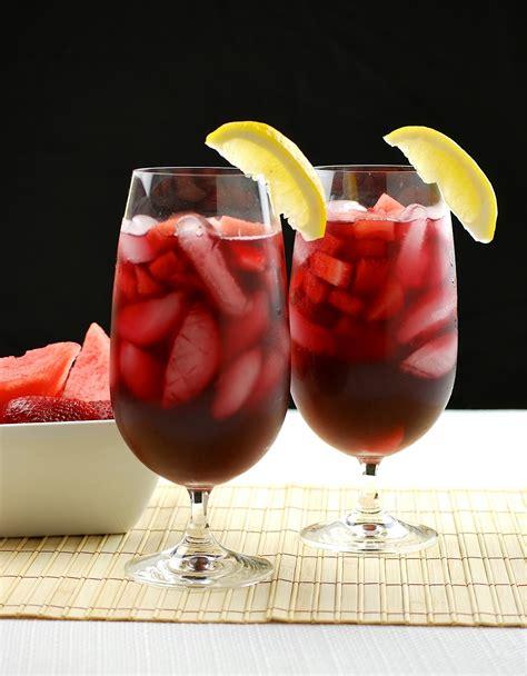sangria jadore le gout de cette boisson savoureuse