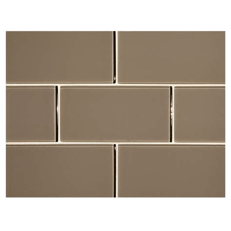 glass tile backsplash pictures for kitchen phenomena glass tile troubador 3 quot x 6 quot subway tile