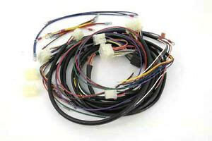 Harley Wiring Harnes Color by Stock Softail Builders Wiring Harness Color Code Oem
