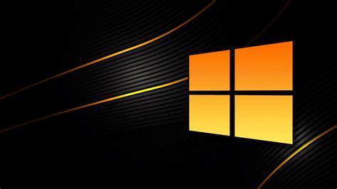 Microsoft Windows 10 Black Background
