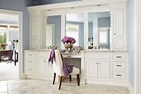 make up vanity 21 Bathroom Vanities and Storage Ideas