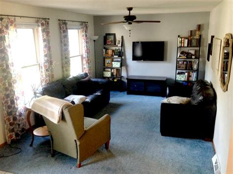 colonial style living room ideas give take the room with blue carpet emily a clark