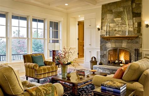 Formal Living Room Furniture Placement by How To Arrange The Furniture Around A Fireplace