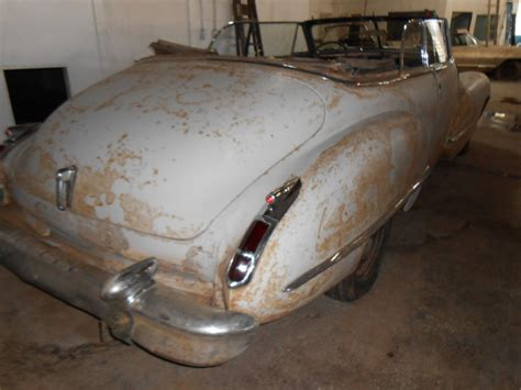 1942 Cadillac 62 Series Convertible Barn Find For Sale