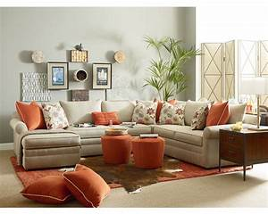 Thomasville living room furniture for Small sectional sofa thomasville