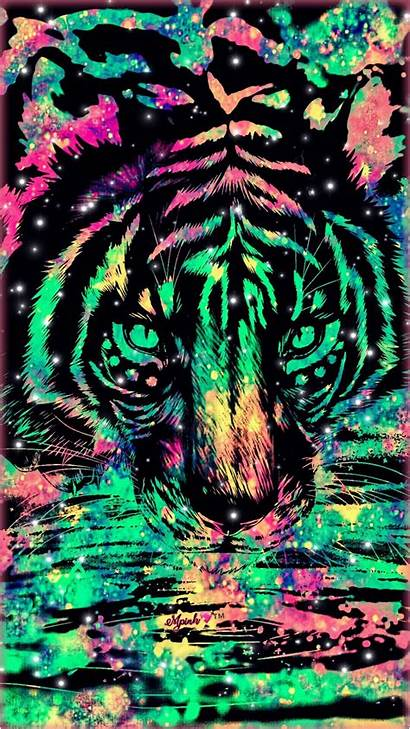 Camo Tiger Realtree Teal Wallpapers Galaxy Glitter