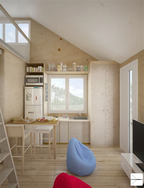 Tiny Masculine Apartment On A Budget by Designing For Small Spaces 5 Micro Apartments