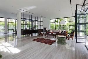 belle maison renovee au design interieur moderne et si With architecture interieur maison moderne