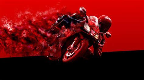 wallpaper aprilia racing racing bike red  automotive