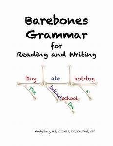 Barebones Grammar For Reading And Writing Curriculum