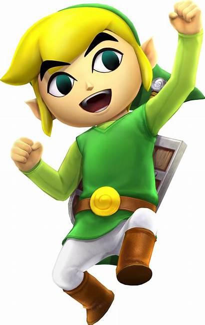 Toon Link Zelda Hyrule Warriors Artwork Characters