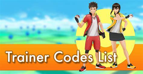 trainer codes list pokemon  wiki gamepress