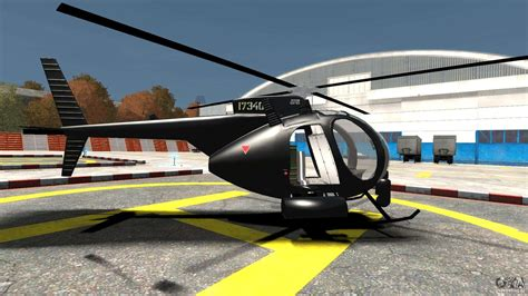 Ah-6 Littlebird Helicopter For Gta 4