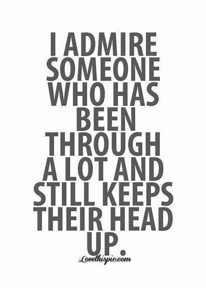 Admire Someone