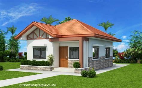 Two Bedroom Small House Design (PHD 2017035) Pinoy House