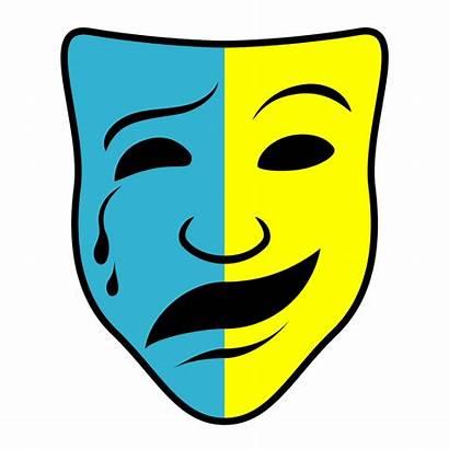 Masks Mask Clip Comedy Tragedy Clipart Drama
