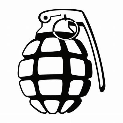 Grenade Decal Military Decals Border