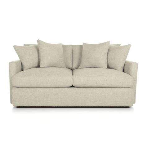 Crate And Barrel Apartment Sofa by Lounge Ii Apartment Sofa Cement Crate And Barrel