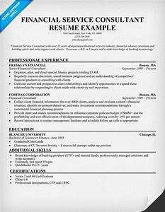 Financial service consultant resume good to know pinterest for Financial services resume writer
