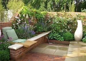 Gartengestaltung Beispiele Und Bilder : terrassentrennw nde material und stil ~ Orissabook.com Haus und Dekorationen
