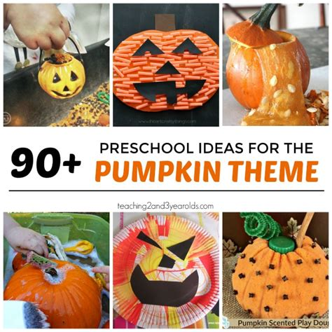 pumpkin crafts for preschool 90 preschool pumpkin theme ideas 366