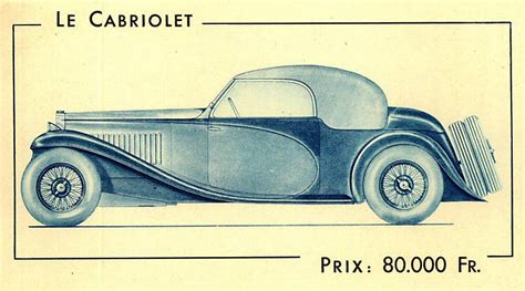 Early Bugatti Models by The Bugatti Revue 14 3 Type 57 Bugatti Brochure 1933
