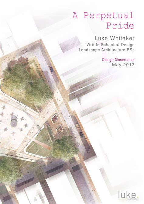 12562 architectural portfolio design for students landscape architecture dissertation a perpetual pride