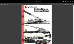 Crane Manual Pdf Exercise Gym British Columbia