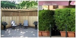 Brise Vue Bois Balcon : idee brise vue pour jardin meilleures images d ~ Edinachiropracticcenter.com Idées de Décoration