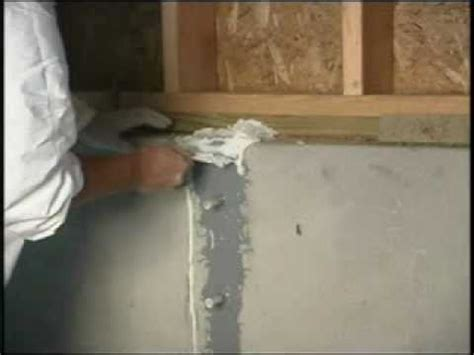 basement wall crack repair  seal  peel