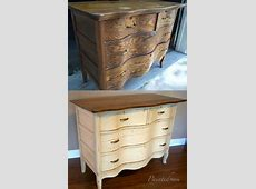 Furniture makeover Antique dresser with Benjamin Moore