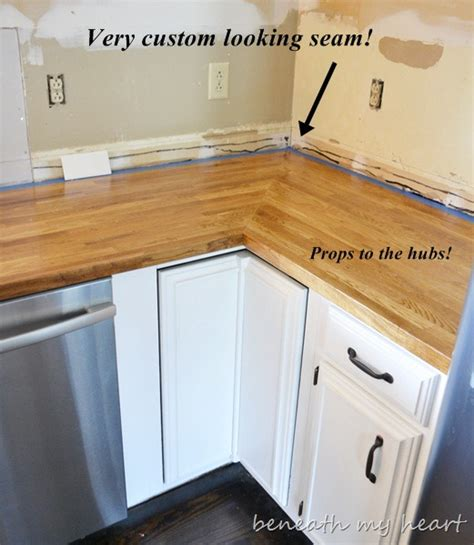 how to install countertops ikea butcher block countertop answers to your questions