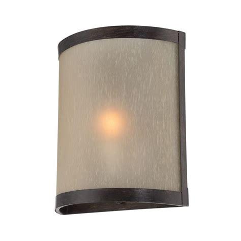 ls plus wall sconces illumine designer collection wall mount 1 light bronze
