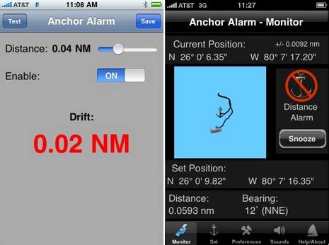 Boat Anchor Alarm by Anchor Alarms Apps Style 171 Www Yachtworld Www