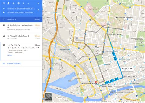 Melbourne Is Getting Public Transport Information On