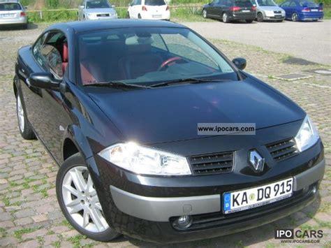 renault megane 2005 sedan 2005 renault megane coupe cabriolet 2 0 confort privilege