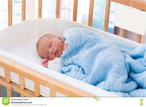 when should baby start sleeping in crib newborn baby boy in hospital cot stock photo image 72155923