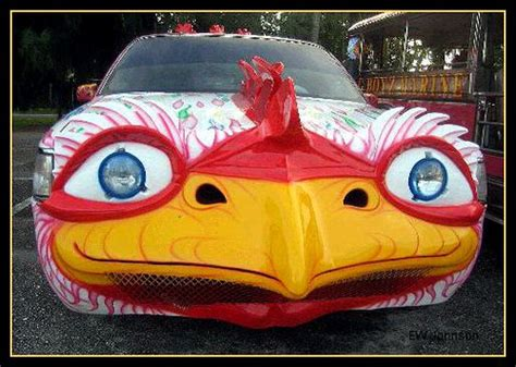 Saipan Chicken Car 1 | The chicken limousine and chicken ...