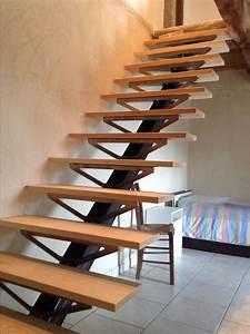 Fabriquer Son Escalier : limon central en ipn ~ Premium-room.com Idées de Décoration