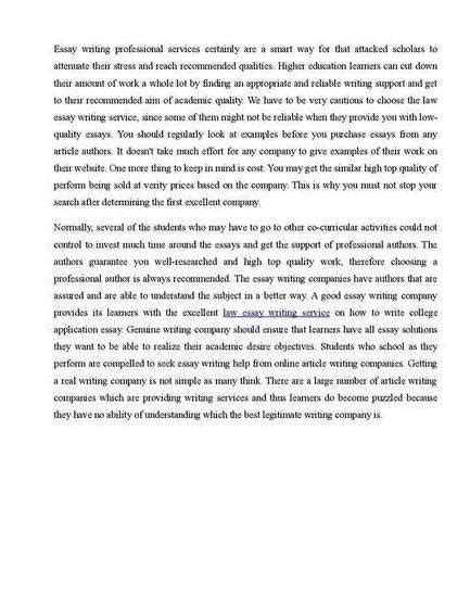 professional college paper writing service