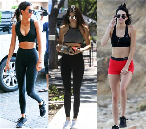 Kendall Jenner Workout | Tumblr
